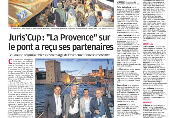 Expert Comptable - La Provence - JurisCup2017