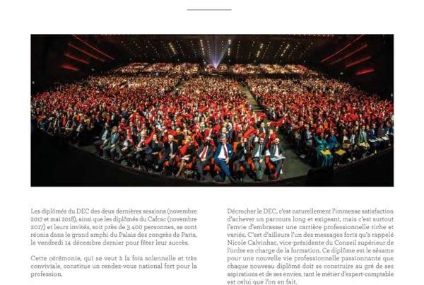 Expert Comptable - Revue SIC - Ceremonie Remise Diplome DEC 2018 -1